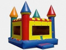 10×10 Compact Castle Bounce House