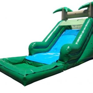 16 Foot Tropical Water Slide