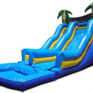 20 Foot Tropical Water Slide
