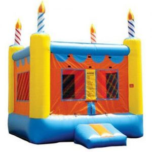 Birthday Cake 13×13 Bounce House
