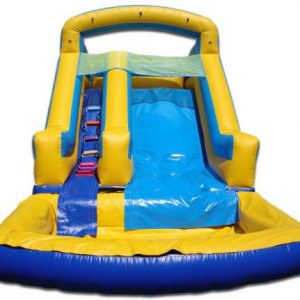 Compact 15 Foot Neutral Water Slide