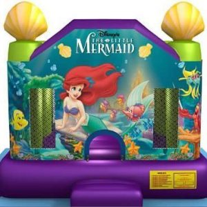 Disney Little Mermaid 13×13 Bounce House