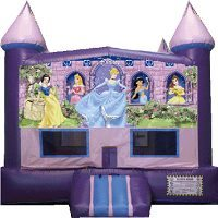 Disney Princess Big Banner Bounce House