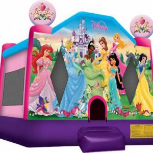 Disney Princess Bounce House #1