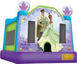 Disney Princess and the Frog Bounce House