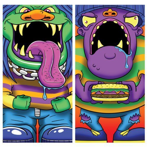 Feed the Monster Carnival Game