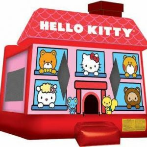 Hello Kitty Full Face Bounce House