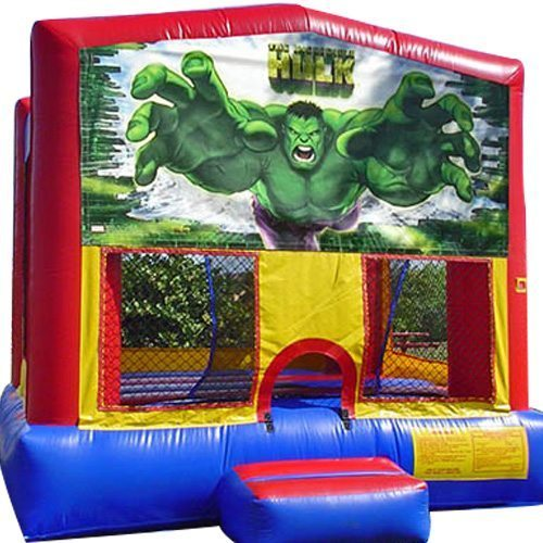 Hulk Big Banner Bounce House