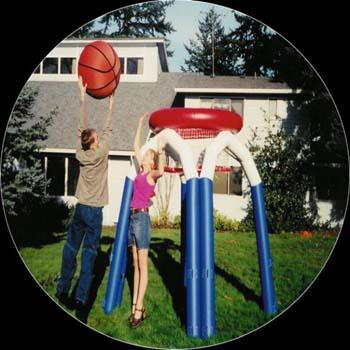 Monster Basketball Interactive Inflatable