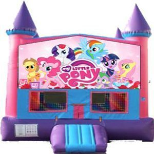 My Little Pony Big Banner Bounce House