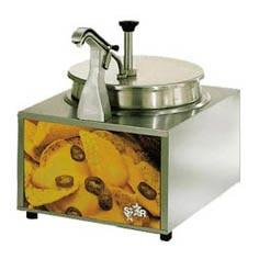 Nacho Cheese Pump and Chip Warmer