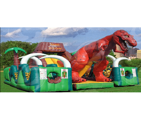 Obstacle Course- Jurassic Survivor (Two Lane)