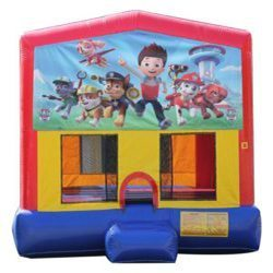 Paw Patrol Big Banner Bounce House