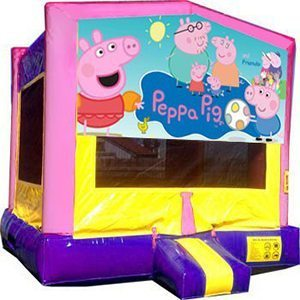 Peppa Pig Big Banner Bounce House