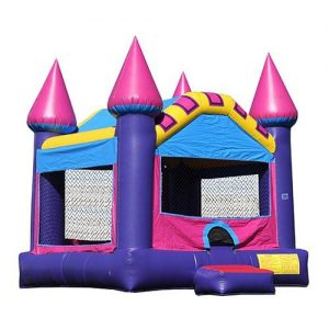 Purple Princess Castle Bounce House