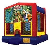 Scooby Doo Big Banner Bounce House