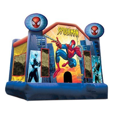 Spiderman Full Face Bounce House