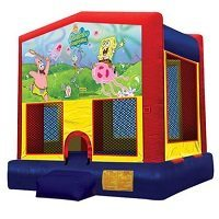 Sponge Bob Big Banner Bounce House
