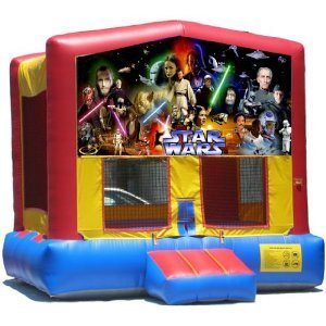 Star Wars Big Banner Bounce House
