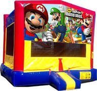 Super Mario Brothers Big Banner Bounce House