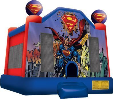 Superman Bounce House