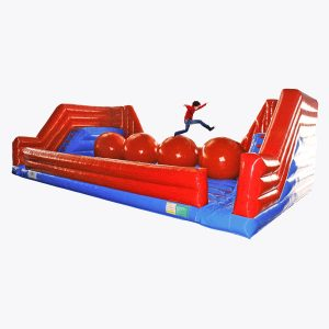 Wipeout Interactive Inflatable