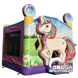 13'x13' 3D Unicorn Bounce House