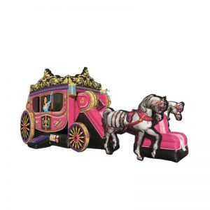 Deluxe Princess Carriage Combo 35'L x 14'W x 16'H