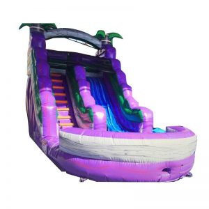 18' Purple Bahama Breeze Water Slide