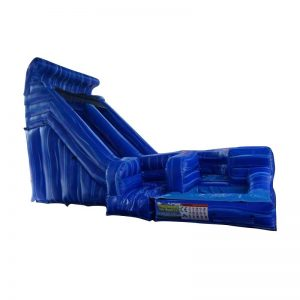 18' Blue Lava Twist Waterslide